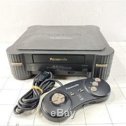 3do Real Fz-1 Console Système Panasonic Retro Console De Jeu Travail Utilisé Testée