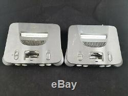 6 Nintendo 64 Systèmes N64 Jeu Vidéo Nu Console Retro Rare Ensemble Testé Lot