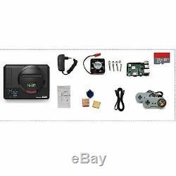64gb Raspberry Pi 3b + Retropié Console 10000+ Retro Jeux Vidéo Avec Les Contrôleurs