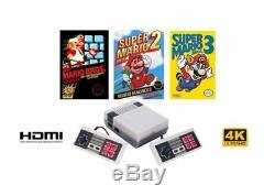 8000+ Classique Retro Games! Mini-console Hdmi Gba Arcade Super Nintendo Nes Gameboy Color