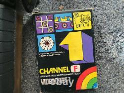 Adman Grandstand Fairchild Channel F Console De Jeu Vidéo Rétro Boîte De Travail