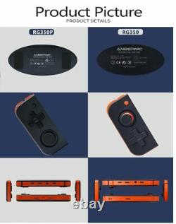 Anbernic Rg350 350m 280m 350p Console De Jeu Vidéo Rétro De Jeu Construit En 2500 Jeux