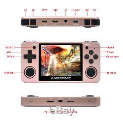 Anbernic Rg350m 3,5 Pouces Écran Ips 64 Bits Ddr2 512m 16 Go 3000+ Retro Games Handh