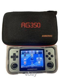 Anbernic Rg350m Console Portable Jeux Retro (espace Gris) Avec La Carte Sd Chargée