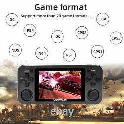 Anbernic Rg351m Console De Jeu Portable Retro Game Player Construit En 2512 Jeux