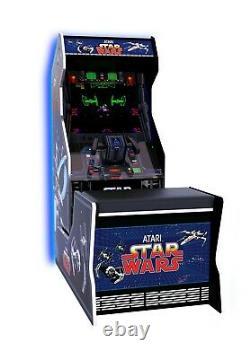 Arcade 1up Star Wars Cabinet Bench Seat Retro Arcade Machine Arcade1up 3 Jeux