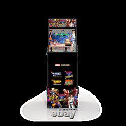 Arcade Xmen Vs Street Fighter Jeu Vidéo Retro Cabinet Riser 4 Jeux En 1