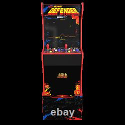 Arcade1up Legacy Defender 12 Jeux Riser Light Up Marquee Retro Arcade Cabinet