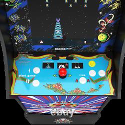 Arcade1up Legacy Galaxy 12 Jeux Riser Light Up Marquee Retro Arcade Cabinet