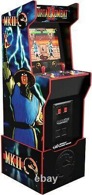 Arcade1up Mortal Kombat Legacy 12 Jeux Riser Light Up Marquee Retro Arcade Nouveau