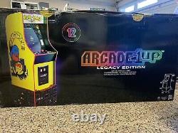 Arcade1up Pacman Legacy 12 Jeux En 1 Jeu Avec Riser Retro Arcade