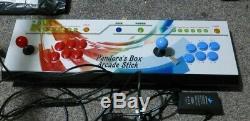 Au Royaume-uni Boîte De Pandore 9 2 Player 6 Joystick Arcade Console 1500 Retro Games