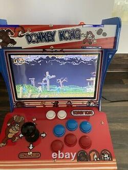 Bartop Arcade Retro Arcade Console 1399 Jeux Pandoras Box 6s