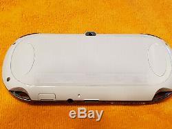 Blanc Ps Vita Playstation Vita Oled 128go (psp, Ps1, Jeux Rétro)