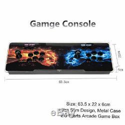 Boîte De Pandore 12s 3188 Dans 1 Jeux Vidéo 2d Et 3d Arcade Retro Console 2 Bâtons Accueil