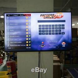 Boîte De Pandore 9s 2448 Dans 1 Retro Jeux Vidéo Bouton Double Arcade Stick Console