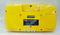 Brand New Sega Game Gear Console Hgg-3212 Testé Japon Rétro Jaune Nib Mint