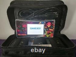 Bundle Nintendo Gameboy Micro Rétro Metroid Avec 4 Star Wars Et Jeux Metroid