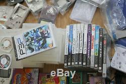 Bundle Retro Game Boy Jeu Consoles, Jeux Psp, Cartes Pokemon, Etc S'il Vous Plaît Lire