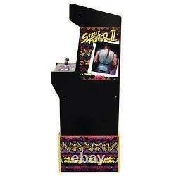 Capcom Legacy Retro Arcade 1up Cabinet Machine 12 Jeux En 1 Arcade1up Riser Nouveau