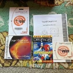 Cib Complet Dans La Boîte Originale Sega Dreamcast White Console Bundle Lot Jeux Retro