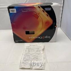 Cib Complet Dans La Boîte Originale Sega Dreamcast White Console Games Retro