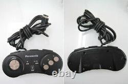 Console 3do Real Fz-1 Contrôleur De Console De Jeu Panasonic Vintage Retro Black Junk