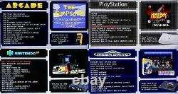 Console De Jeux Rétro 128 Go Framboise Pi 4 B 2 Go Arcade Gaming Machine
