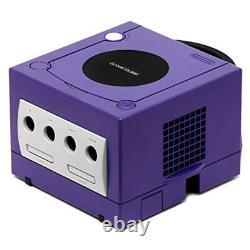 Console De Remplacement De Console De Jeu Nintendo Gamecube Purple Retro Seulement