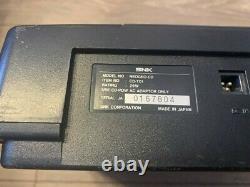 Console Only Snk Neo Geo CD Cd-t01 Japan Version Used Retro Jeu Testé Neogeo