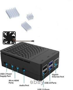 Console Retro Gaming Retropie Raspberry Pi 4 Avec 4 Go De Ram + 512 Go De Charge L@@k