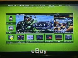 Cristal Microsoft Xbox D'origine V1.6 Retro Gaming 2to 700+ Xbox D'origine Jeux