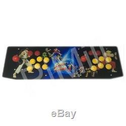 Deux Joueurs Tabletop Arcade Retro Console De Jeu Raspberry Pi 3b + Boîtier Métallique 64g Us