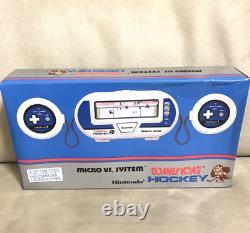 Donkey Kong Hockey Game Watch Nintendo Overseas Version Retro Par Dhl