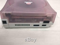 Dreamcast DC Bonjour Kitty Rose Machine À Jeu Uniquement Des Jeux Rétros Marchandises Rares Japon