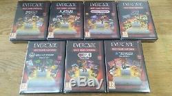 Evercade Retro Games Console Premium Pack + Housse + 7 Cartouches Neuf Dans La Boîte Atari