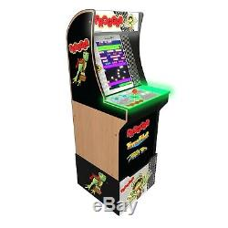 Frogger Retro Arcade1up Accueil Cabinet Arcade Machine 1up Riser 3 Jeu Tabouret Combo