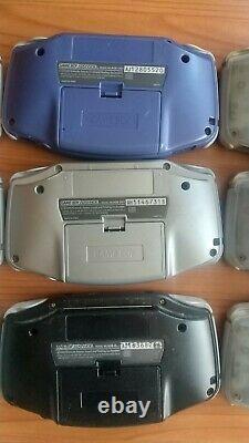 Gameboy Advance Lot De 9 Pourriels Pour Pièces Gba Nintendo Console Retro Game Fs Jp