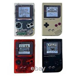 Gameboy Dmg Funnyplaying Rétro Pixel Ips Écran Rétroéclairé Rétro-éclairage Mod Game Boy