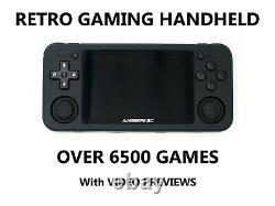 Handheld Retro Games Console Rg351p Portable Arcade 6500+ Games Uk Vendeur