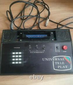 Intel Universal Teleplay D-744/34 Retro Tv Jeu Vidéo 1979