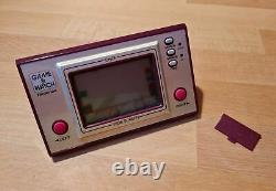 Jeu & Montre, Tricotronic, Nintendo, Chef (koch), Jeu LCD Portable, Retro, 80er