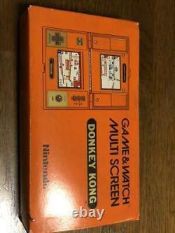 Jeu & Regarder Donkey Kong Retro Jeu Rare Flambant Neuf! Japon Dhl F/s Suivi