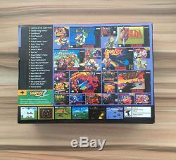Jeux Classiques Console Nintendo Mini Retro Intégrée Dans 21 Jeux Contrôleurs