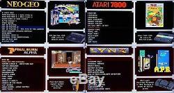 Jeux Rétro Console 128 Go Raspberry Pi 4 B 2gb Arcade Gaming Machine