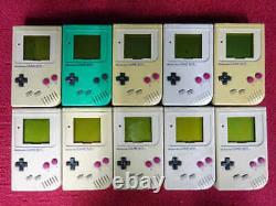 Junk Gameboy GB Lot De 10 Set Nintendo Aléatoire Console Japan Vintage Retro Game