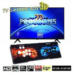 La Boîte De Pandora 3188 En 1 Jeux 4players Rétro Console Arcade Console Hd Usb Pour Ordinateur Portable Tv