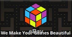 Launchbox Retro Gaming 8tb Ext. Disque Dur 43,860 Jeux + 2 Contrôleurs Xbox