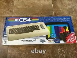 Le Micro-ordinateur C64 Maxi De Retro Games Ltd Htf USA Version Livraison Gratuite