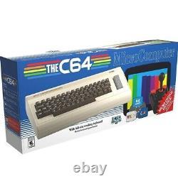 Le Micro-ordinateur C64 Maxi Par Retro Games Ltd Htf USA Version Confirmed Ordonnance